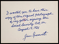 View President Franklin Delano Roosevelt Signs Social Security Act digital asset number 1