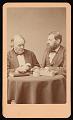 View Portrait of Jean Louis Rodolphe Agassiz (1807-1873) and Louis Francois de Pourtales (1824-1880) digital asset number 0
