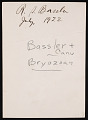 View Portrait of Ray Smith Bassler (1878-1961) digital asset number 1