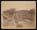 View National Zoological Park, Construction - Piers and Abutments of Bridge digital asset number 0