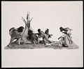 View Ethnology Exhibit Model, Kiowa Indians - Family Group digital asset number 0