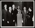 View Presentation of Bronze Bust of General James H. Doolittle to National Air Museum digital asset number 0