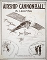"""View Airship """"Cannonball"""" is leaving / by Jess R. Batt digital asset number 0"""