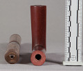 View Catlinite Pipe, Tobacco-Pouch & Cleaning Stick digital asset number 4