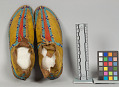 View Beaded/Painted Moccasins (Pair) digital asset number 6