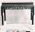 View Oblong Carved Marble-Top Table digital asset number 0