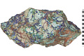 View Carbonate Minerals Azurite with Malachite digital asset number 2