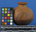 View Earthen Water Vessel - Painted digital asset number 1