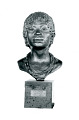 "View Bronze Bust - Native Girl - ""A Bakongo Girl"", by Herbert Ward digital asset number 0"