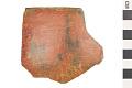 View Gila Red Rim Sherd, Prehistoric Pottery Fragment digital asset number 0