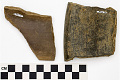View Incised Black Ware Sherd, Mexican Pottery Fragments digital asset number 2