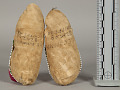 View Child's Moccasins, Old, Pair digital asset number 1