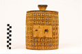 View Carved Wooden Container and Lid digital asset number 3