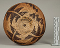 View Decorated Coiled Basketry Bowl digital asset number 4