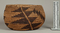 View Decorated Coiled Basketry Bowl digital asset number 0