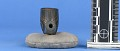 View Pipe Bowl Carved From Black Slate digital asset number 2