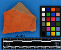 View Red Earthenware Sherd digital asset number 0