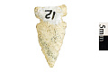 View Side Notched Point, Prehistoric Stone Tool digital asset number 0