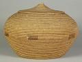 View Storage basket with lid digital asset number 2