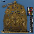 View Brass Hanukkah Lamp, Hammered & Repousse Work digital asset number 0