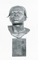 "View Bronze Bust - Native Man - ""Aruimi Man"", by Herbert Ward digital asset number 0"