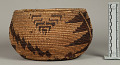 View Decorated Coiled Basketry Bowl digital asset number 1