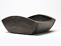 View Carved Wood Berry Dish digital asset number 0