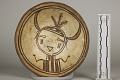 View Bowl With Kachina Face In Center digital asset number 0
