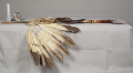 View Feathered Stick Used In Dancing (Pipestem) digital asset number 3