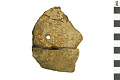 View Pope's Creek Ware Sherd, Prehistoric Pottery Fragment digital asset number 0