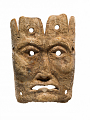 View Carved Human Face Or Miniature Mask digital asset number 1