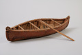 View Canoe and 2 Paddles, Model digital asset number 6