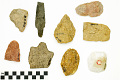 View Bifaces, Prehistoric Unfinished Stone Tools digital asset number 1