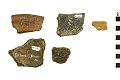 View Shell Tempered Sherds, Shell Tempered Sherds, Prehistoric Pottery Fragments digital asset number 0