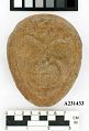 View Carved Stone Face-Mask. digital asset number 0