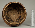 View Decorated Coiled Basketry Bowl digital asset number 3