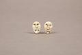 View Carved Ivory Earrings 2 digital asset number 0