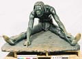 "View Bronze Statue & Base - ""L'Ecrivain"" or ""A Congo Artist"", by Herbert Ward digital asset number 0"