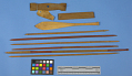 View Canoe Model With Mat, Sails, Paddles, Etc. digital asset number 4