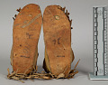 View Child's Beaded/Painted Moccasins (Pair) digital asset number 1
