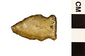View Side Notched Point, Prehistoric Stone Tool digital asset number 1