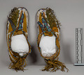 View Beaded/Painted Moccasins (Pair) digital asset number 0