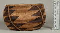 View Decorated Coiled Basketry Bowl digital asset number 2