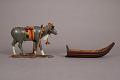 View Model Of Reindeer Pulling Sled digital asset number 1