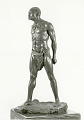 "View Bronze Statue & Base - ""Defi"" or ""Defiance"", by Herbert Ward digital asset number 8"