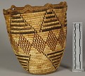 View Decorated Coiled Basket digital asset number 2