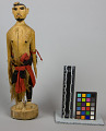 View Carved Figure Of Man With Cloth Skirt digital asset number 6