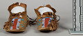 View Child's Beaded/Painted Moccasins (Pair) digital asset number 2