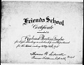 View Prentiss Taylor papers digital asset: Scholarship Certificate, Report Card, and Graduation Announcement