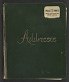 View Lorser Feitelson and Helen Lundeberg papers digital asset: Address Books